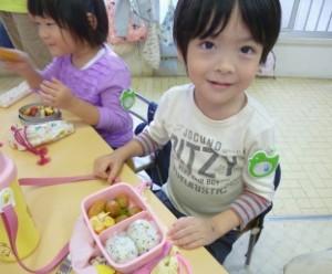 お弁当を食べる日6